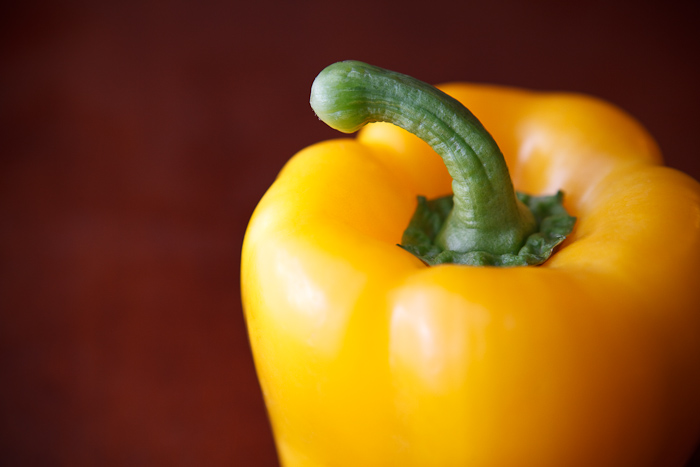 yellow, bell pepper, green, stem, orange, red, vegetable, food, photography
