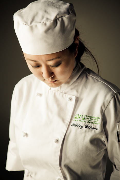 chef, cook, hat, girl, female, asian, portrait