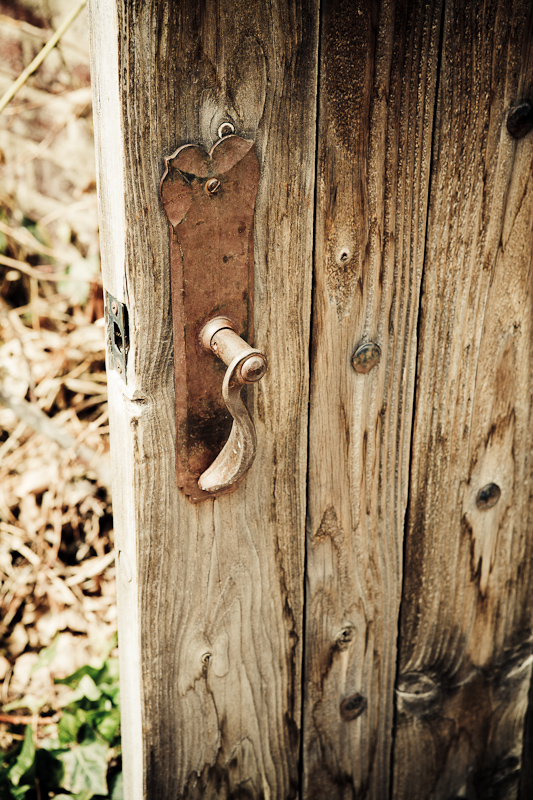 door, garden, gate, handle, knob, Secret Garden, Thanksgiving Point, wood